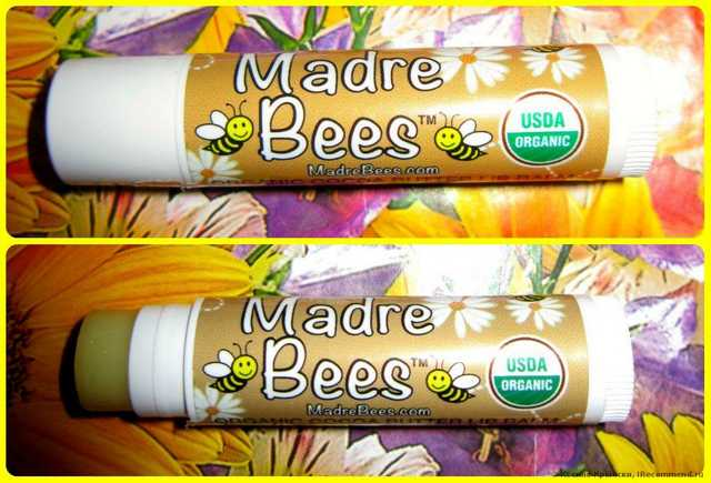 Madre Bees Organic Cocoa Butter Lip Balm