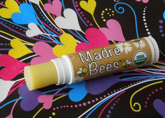 Бальзам для губ Madre Bees Organic Cocoa Butter Lip Balm - фото