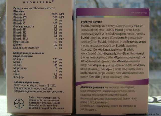 Витамины Unipharm Витрум Пренатал Форте (Prenatal Forte) - фото