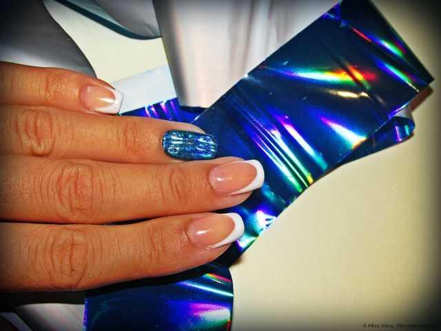 Фольга переводная Aliexpress для дизайна ногтей - фото