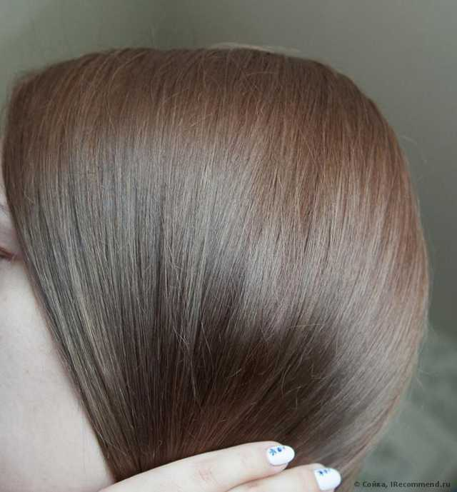 Волосы после окрашивания мягкие и блестящие