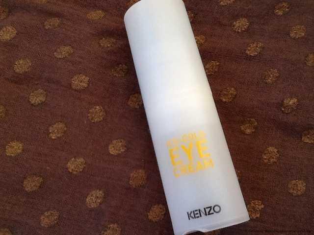 Крем для кожи вокруг глаз Kenzoki Ледяной тонизирующий крем для век линии Kenzo Ki - фото