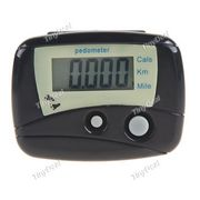 ШАГОМЕР TinyDeal Brand New Pocket LCD Pedometer Run Step Walking Calorie Distance Counter - Black HKEFPM01